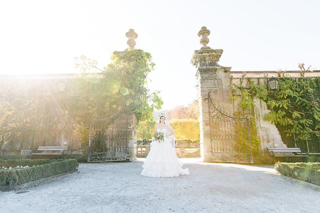 009_Prinzessinnen Hochzeit blush dress kupfer styled shoot salzburg