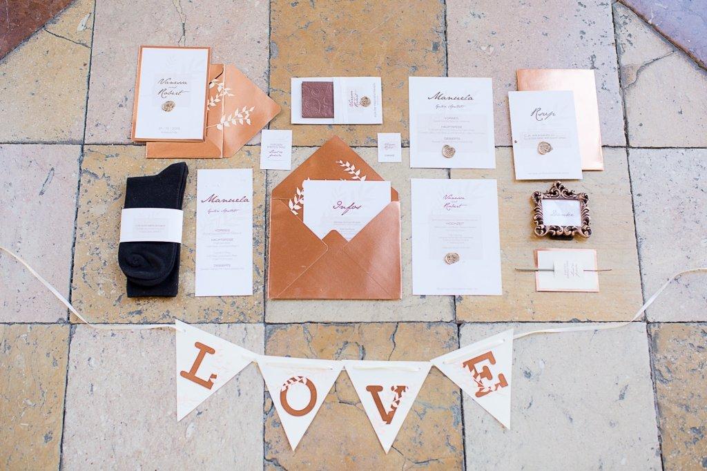 015_Einladung Hochzeit Kupfer inspiration Papeterie