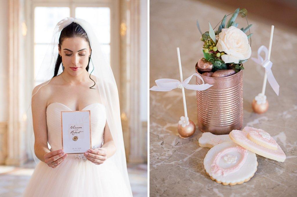 Schloß Mirabell Kupfer Hochzeit Prinzessin