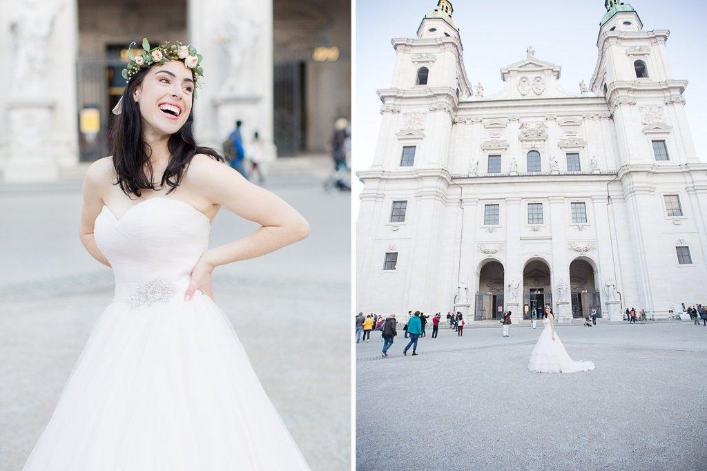 025_Domplatz Salzburg Hochzeit fotografie liebevoll hochwertig Anna Mardo