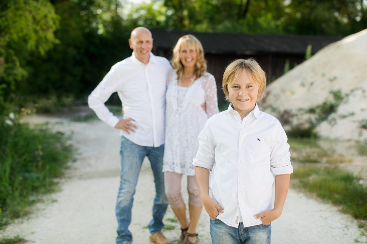 Familienshooting im Sommer in Ulm