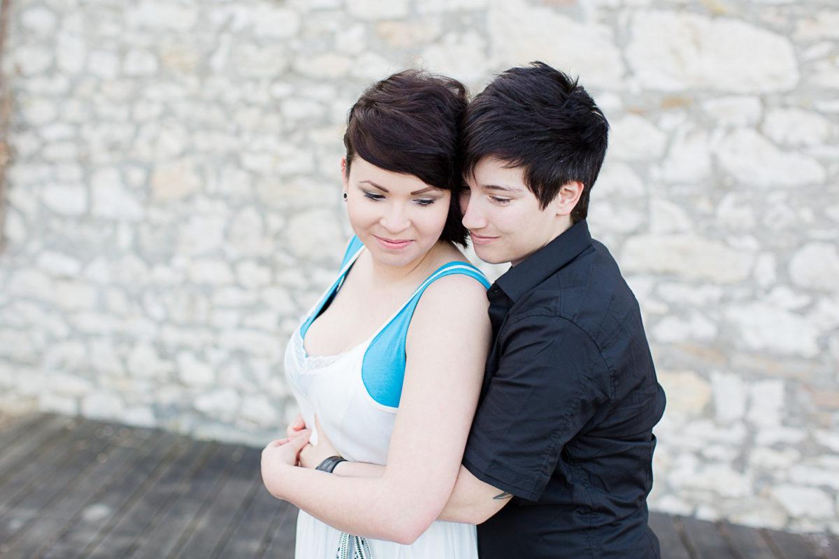 Gleichgeschlechtliche Liebe fotoshooting