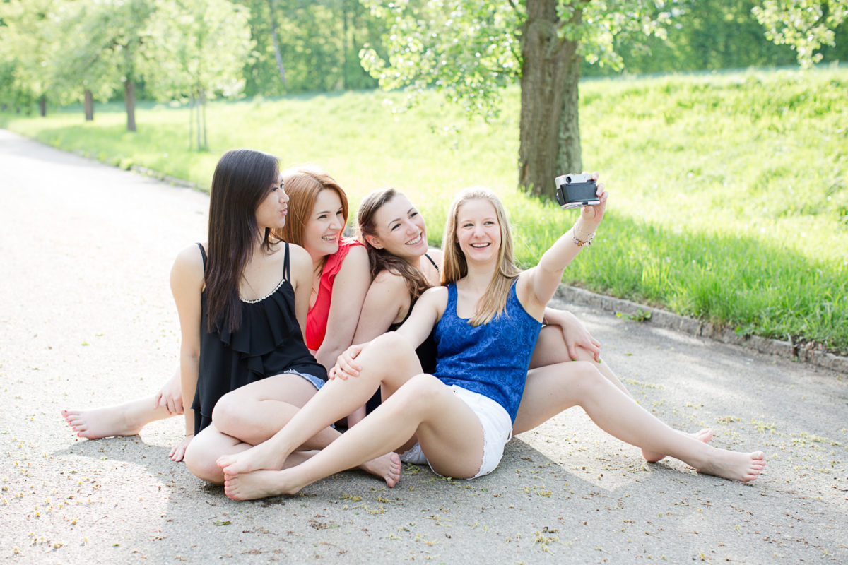 Sommerliches Freunde Shooting