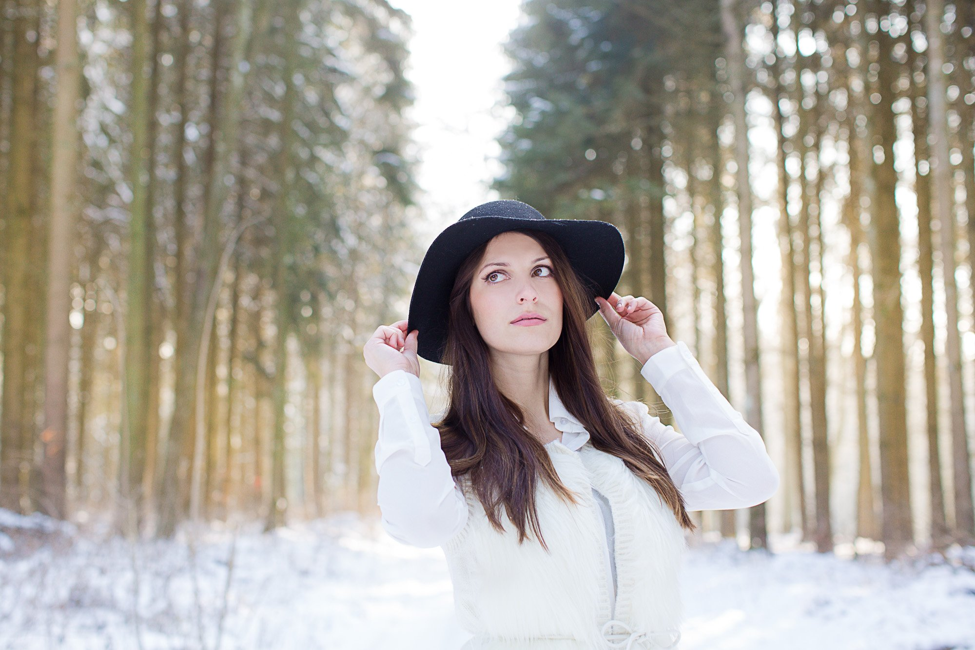 Winter Fotoshooting in Heideheim