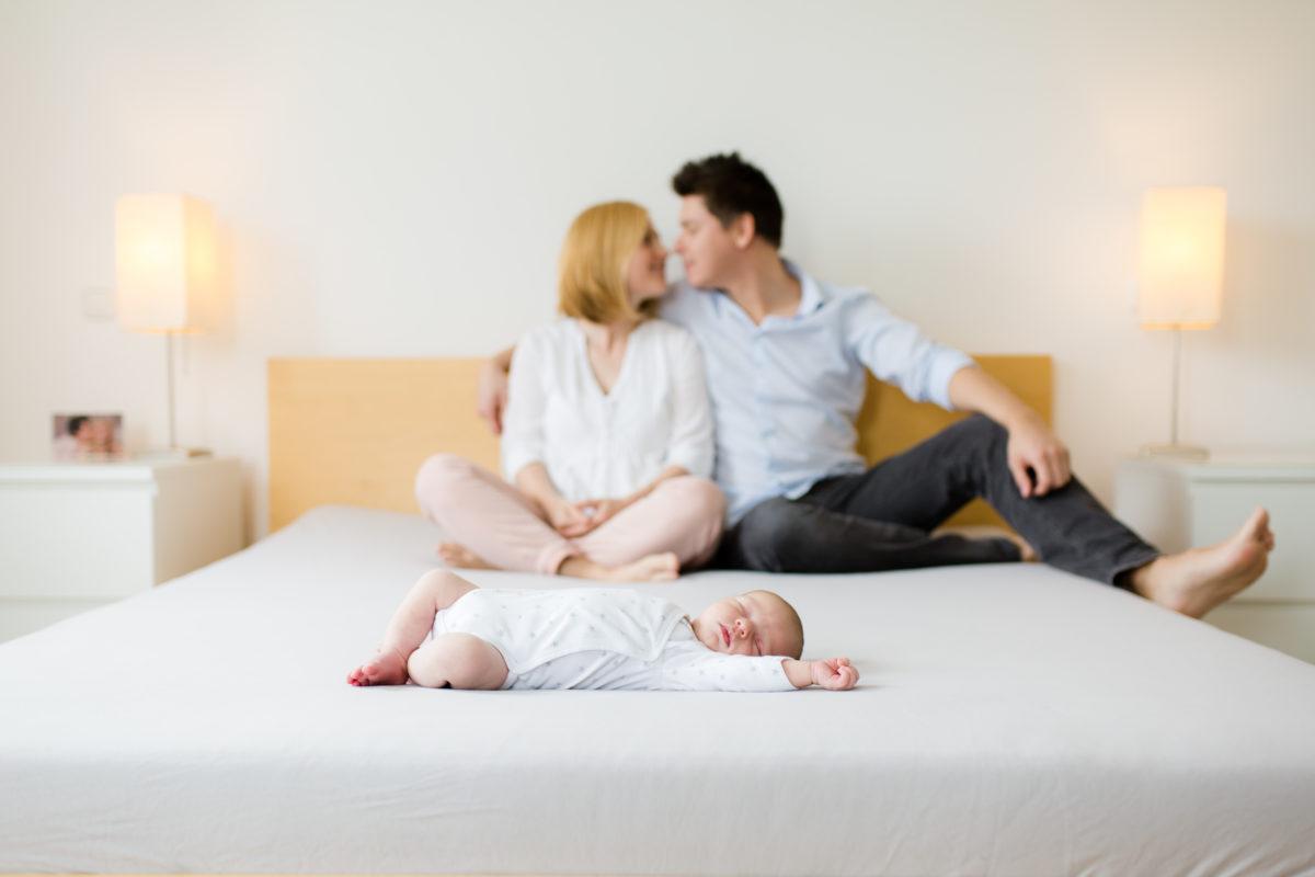 Homestory babyfotografie