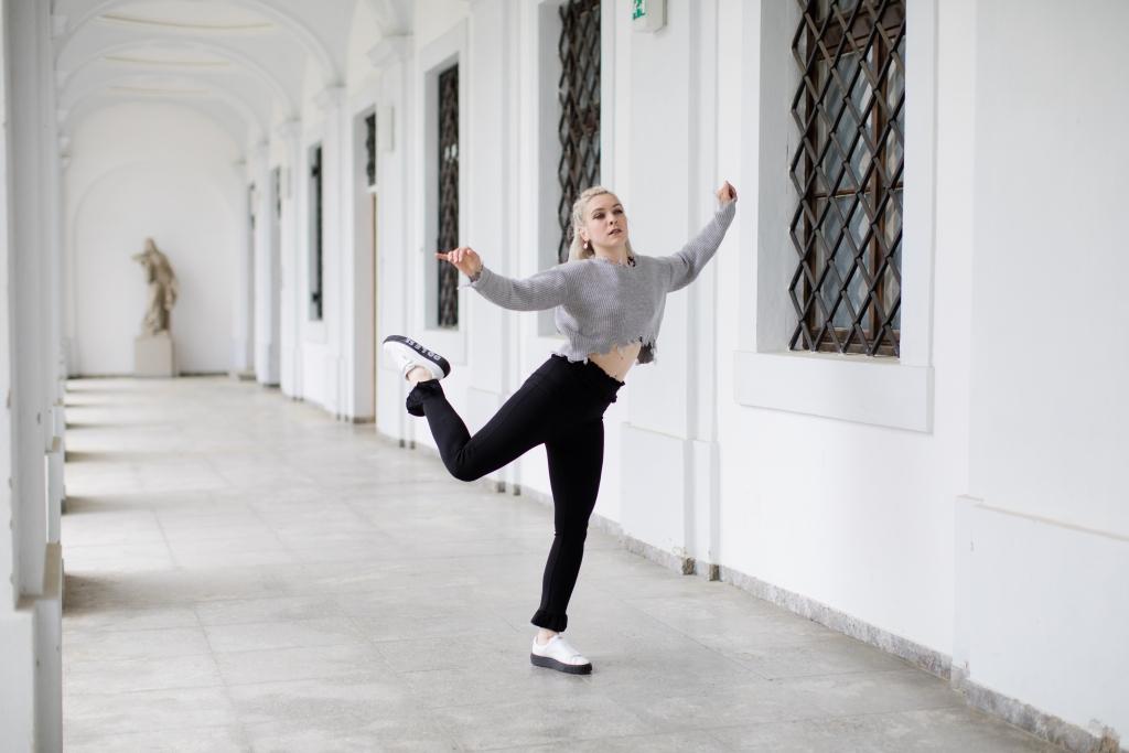 Fotoshooting Tänzerin