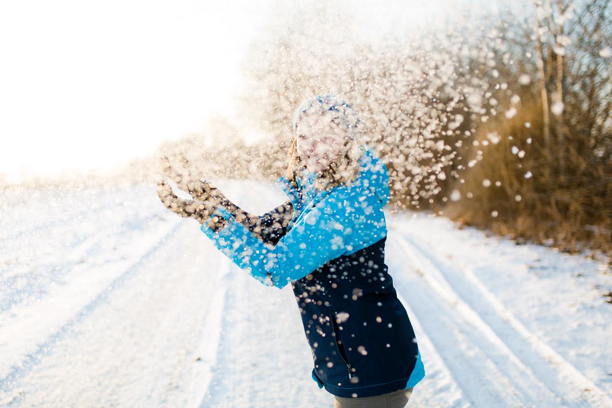 Fotoshootings in Gundelfingen an der Donau im Winter