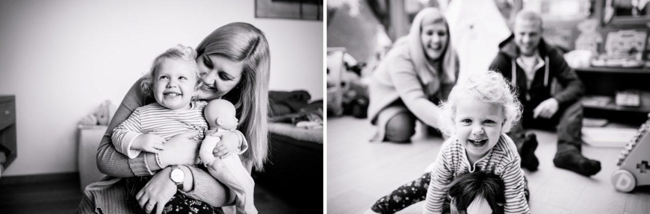 Fotoshooting mit Familie Indoor bayern