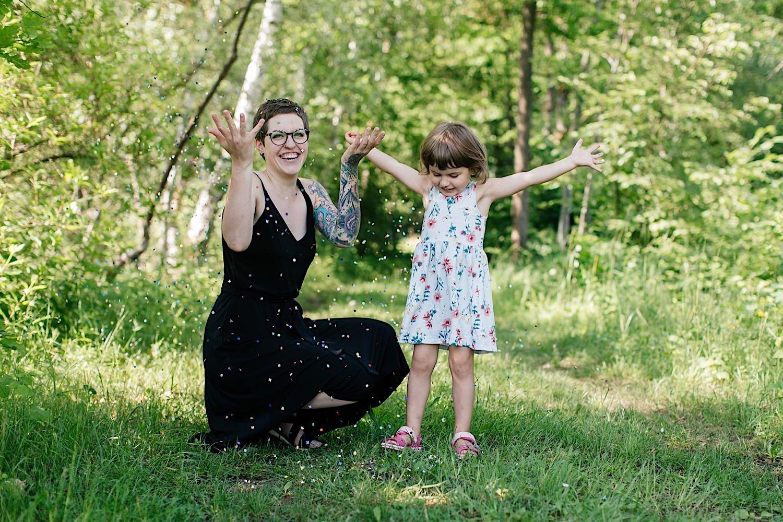 Fotoshooting Mutter Kind outdoor in Lauingen