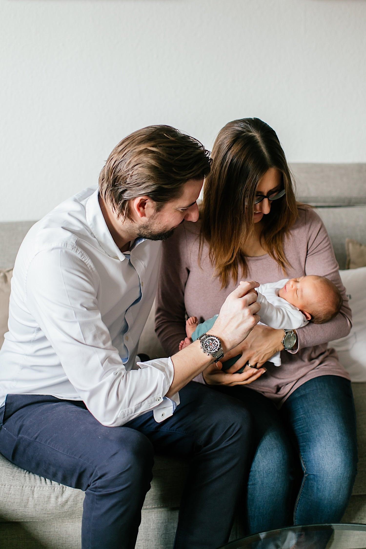 Fotoshooting mit einem Baby in Heidenheim