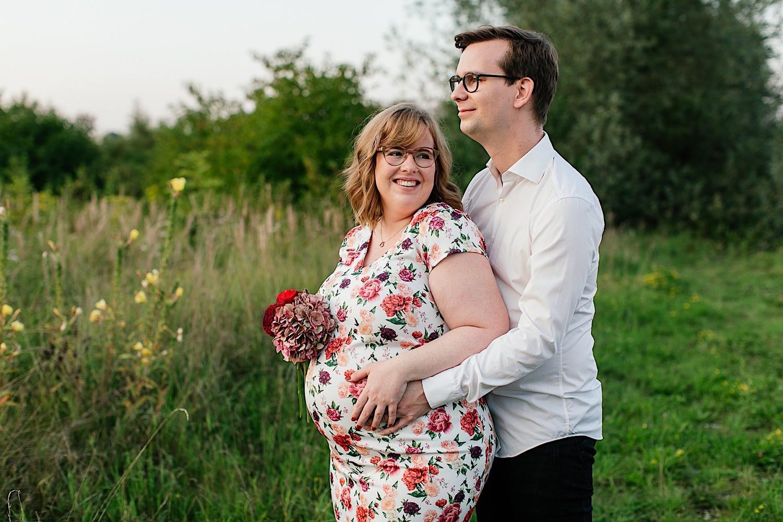 Schwangerschaft fotoshooting Burgau